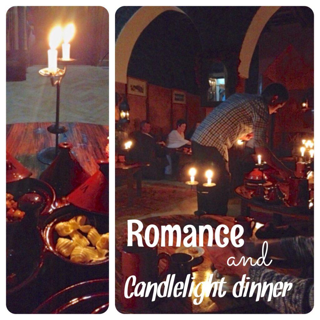 candlelight dinner at kasbah du toubkal