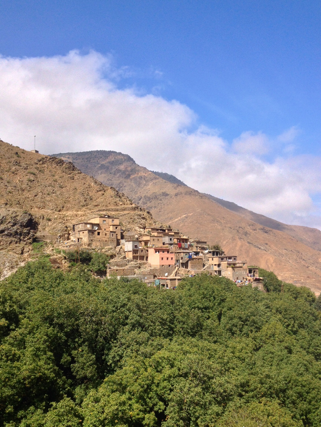 view from kasbah du toubkal