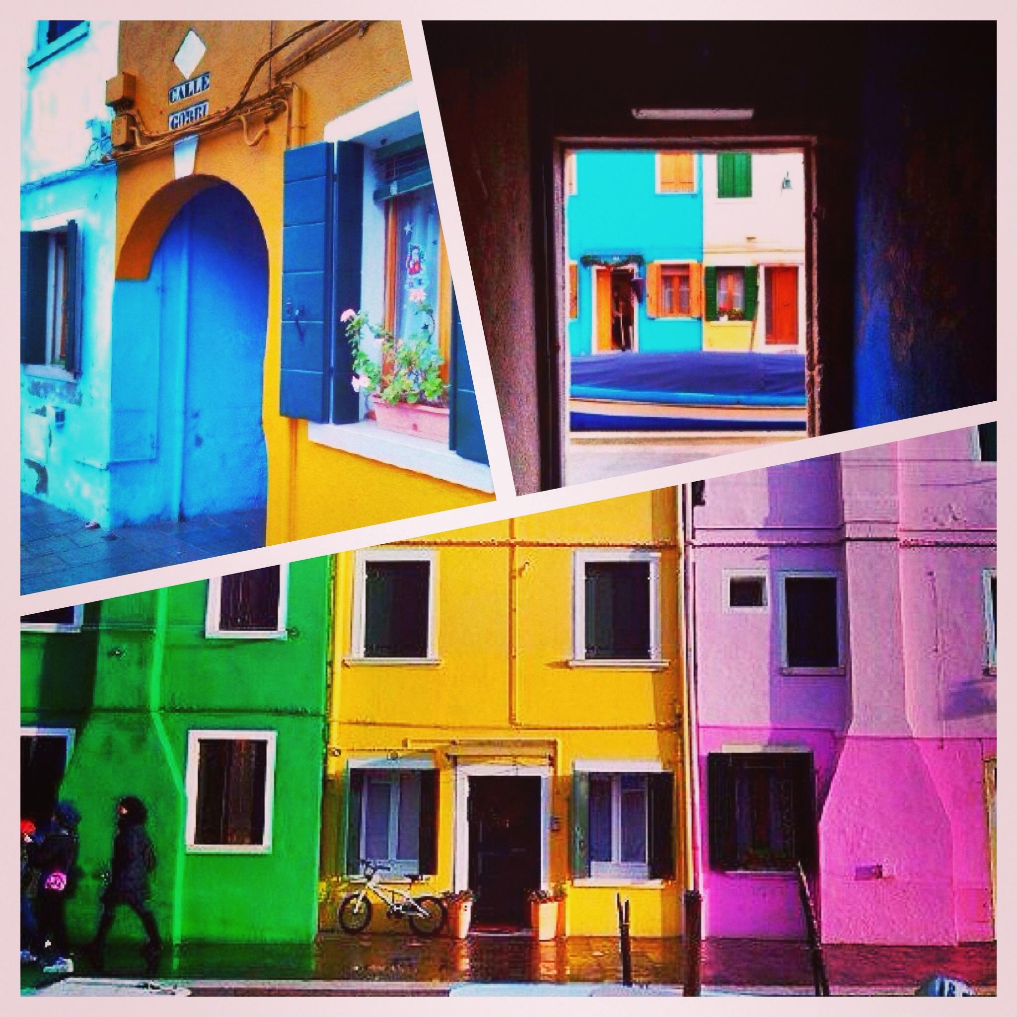 burano venice coloured houses