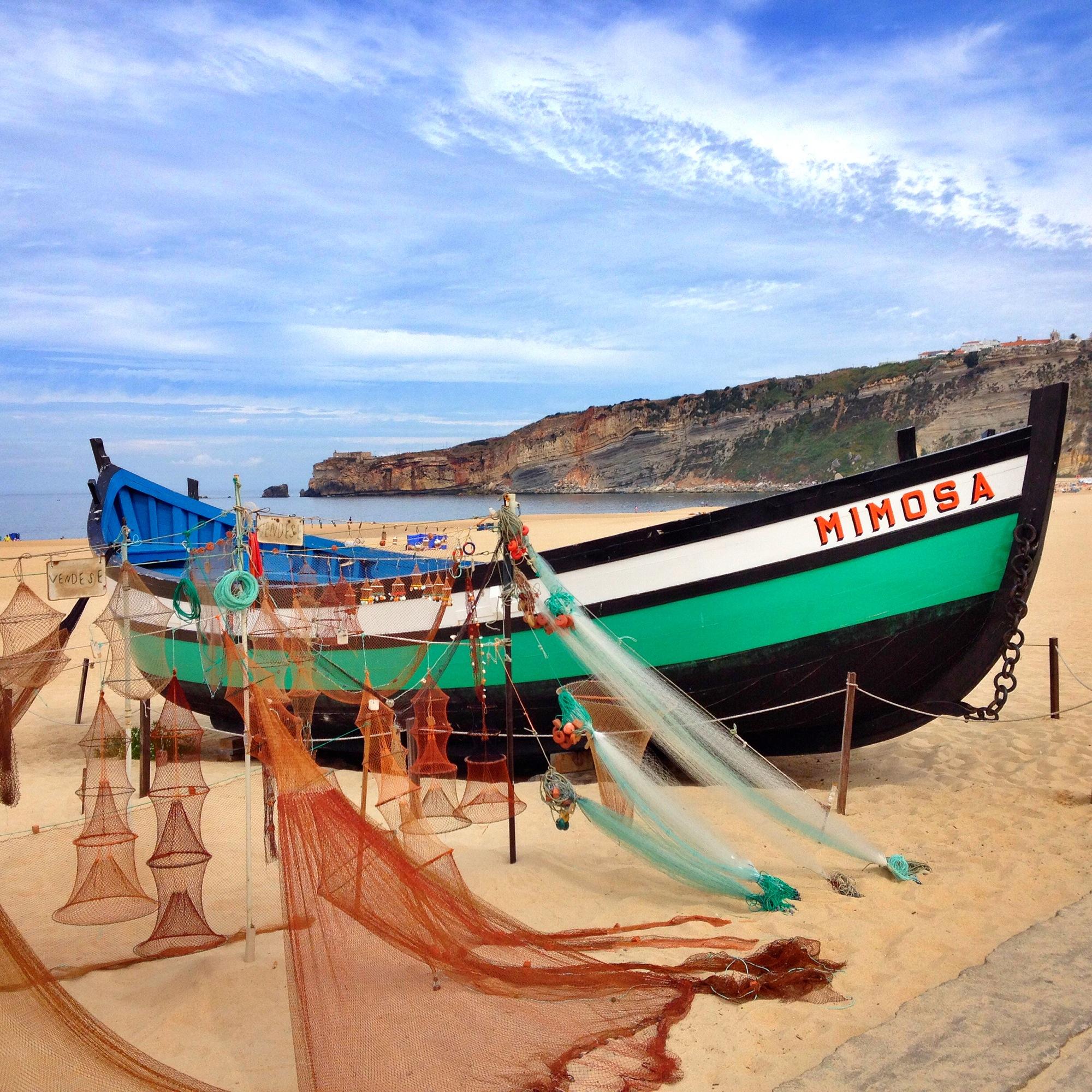 nazare portugal beach