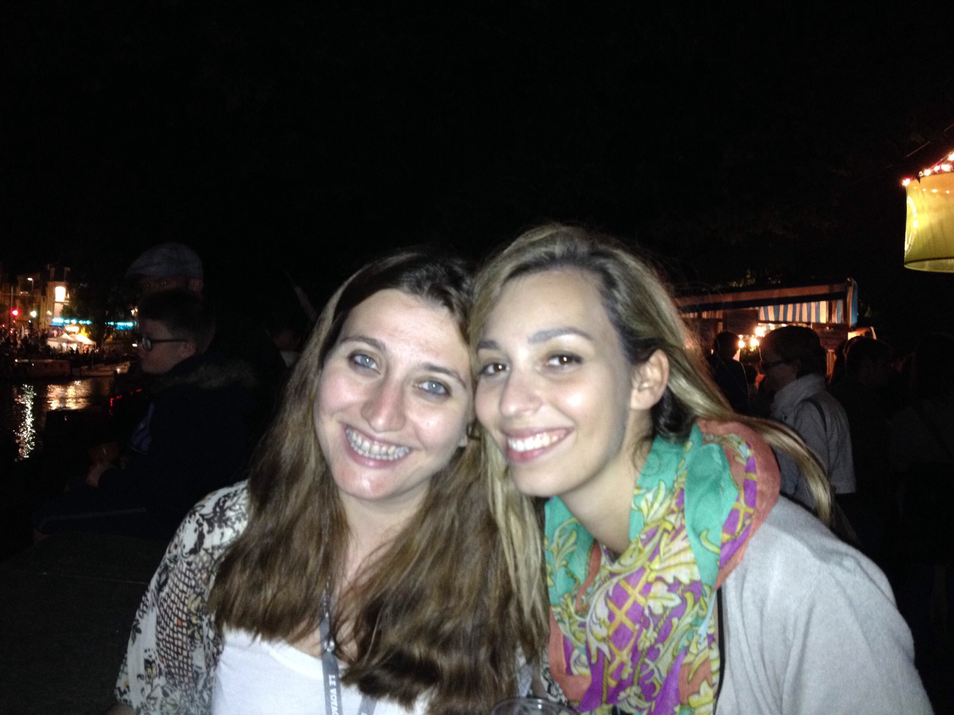 Tianna and I in Nantes