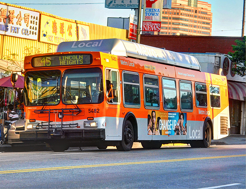 los angeles metro bus network