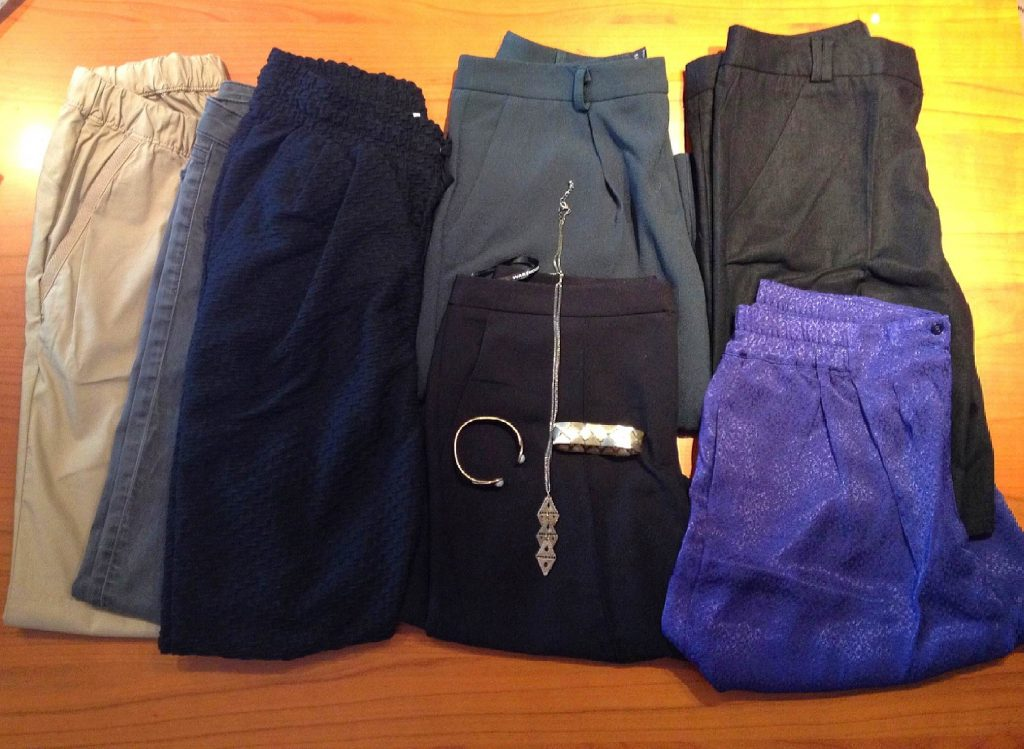 What to pack for Kerala - Bottoms