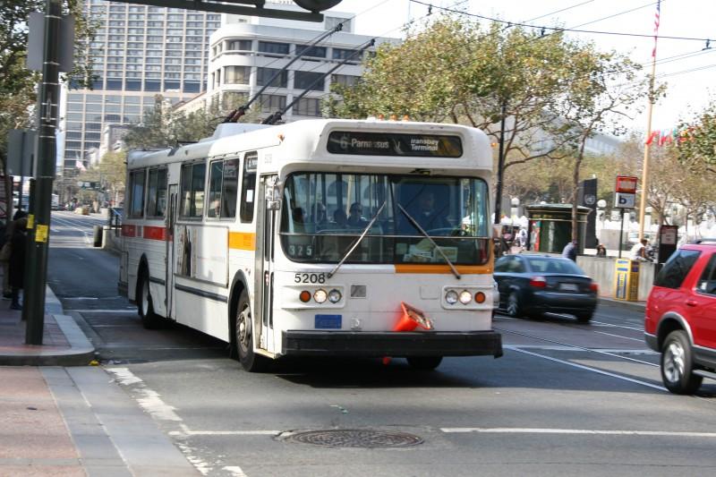 San Francisco Trolley Bus