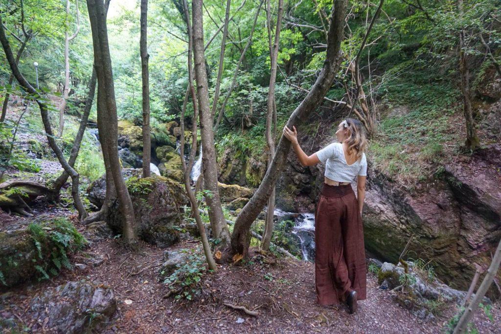 Nice walk to the waterfalls