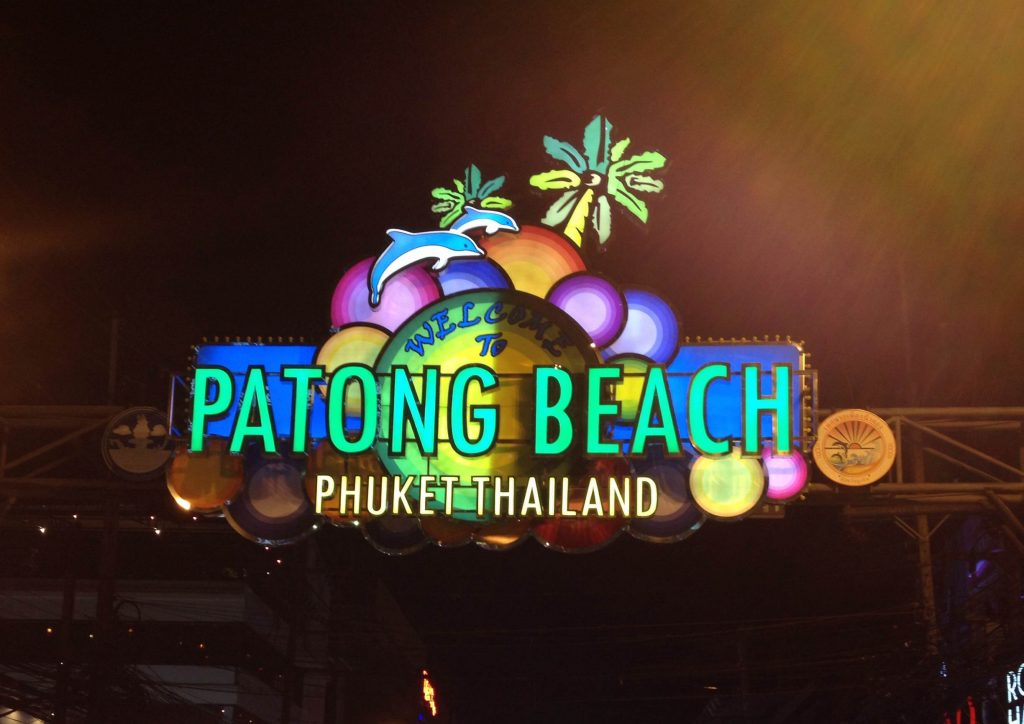 Party in Bangla Road, Patong