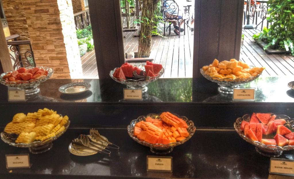 Breakfast at Duangjitt Resort