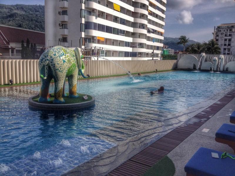 Pool at Ramada Phuket Deevana Patong