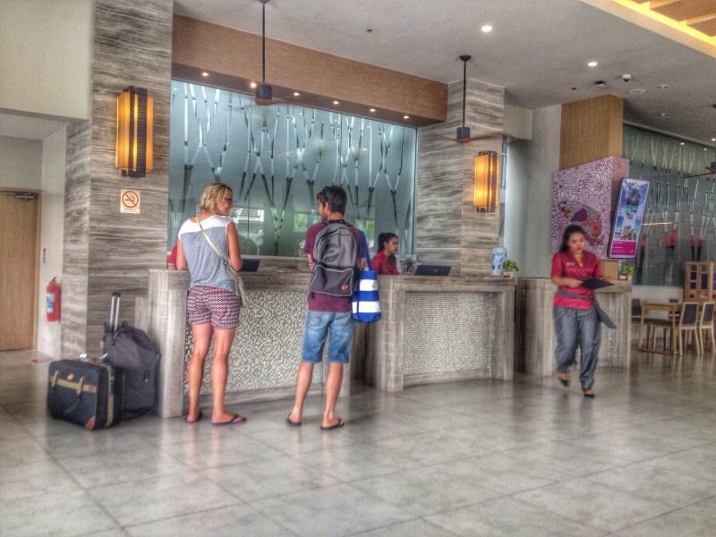 Lobby of Ramada Phuket deevana