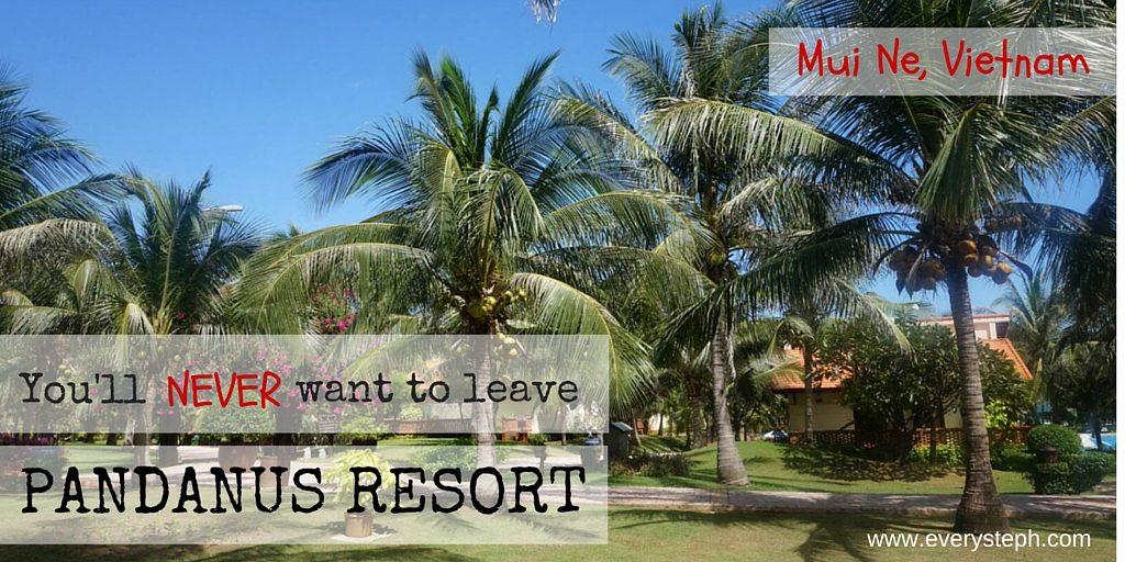 You'll never want to leave Pandanus Resort