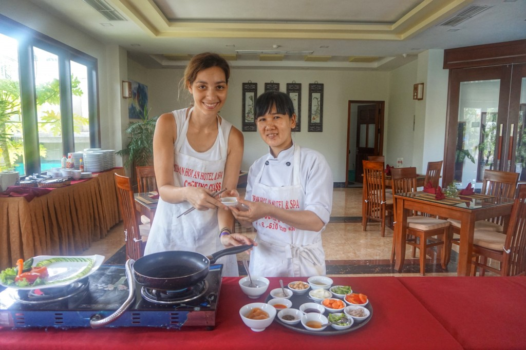 Kiman Hoi An Hotel & Spa, free cooking class in Hoi An