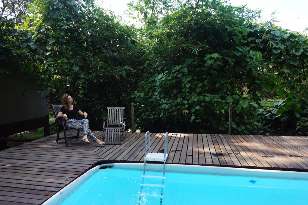 Pool at Sukau Rainforest Lodge