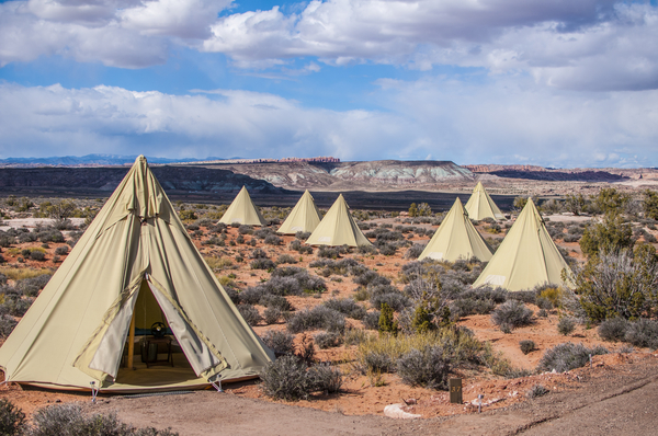 12 Epic Glamping Destinations in the Usa - Moab Under Canvas, Utah. Photo by Moab under Canvas - Read more on everysteph.com