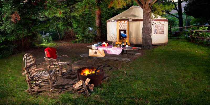 12 Epic Glamping Destinations in the USA - El Capitan Canyon, California . Photo by El Capitan Canyon - Read more on everysteph.com