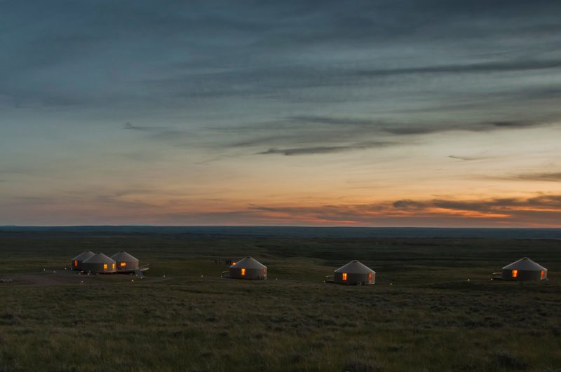 12 Epic Glampng DEstinations in the Usa - Kestrel Camp, Montana .Photo by Kestrel Camp -Read more on everysteph.com