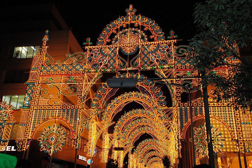 kobe luminaire japan - Best Christmas Light Shows