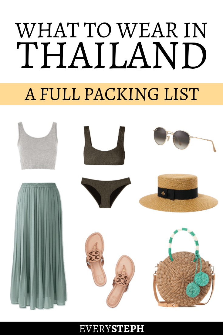 What to pack for thailand female